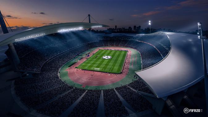Stadion dalam gim FIFA 20 (Dok. EA Sports/ FIFA 20)
