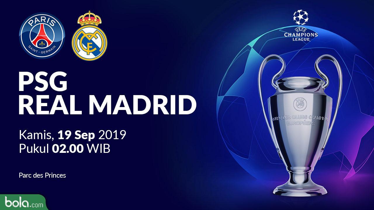 Liga Champions: Real Madrid Babak Belur di Kandang PSG