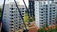Viral Apartemen 10 Lantai Dibangun Hanya Dalam 29 Jam, Bikin Takjub (Sumber: Oddity Central)