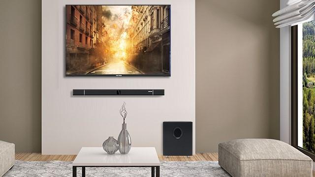 Polytron LED Cinemax Soundbar.