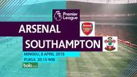 Premier League_Arsenal vs Southampton (Bola.com/Adreanus Titus)