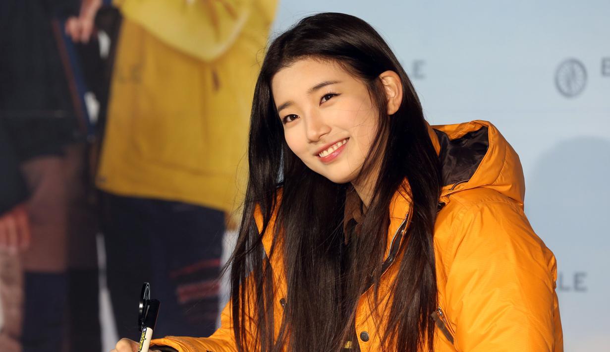 Suzy Miss A dikenal sebagai salah satu selebriti Korea yang baik hati. (Starnews / AFP)