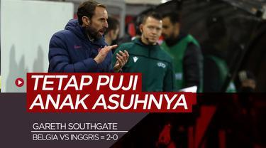 Berita Video manajer Timnas Inggris, Gareth Southgate puji Jack Grealish dkk walaupun kalah lawan Belgia di UEFA Nations League