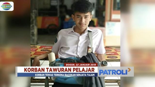 Polsek Leuwiliang telah amankan pelaku utama tawuran di Bogor yang menewaskan satu pelajar.