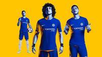 Chelsea merilis seragam anyar dengan sponsor baru. (Chelsea)