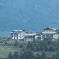 Hotel Gangtey Lodge, hotel Small Luxury Hotels of the World pertama yang ada di Bhutan. Sumber foto: Document/SLH.