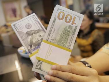 Rupiah Tembus 13.820 per Dolar AS