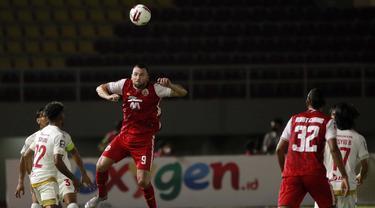 FOTO: Masih Imbang 0-0, Persija Kontra PSM di Babak Pertama - Marko Simic