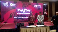Badan Ekonomi Kreatif kembali menggelar Food Startup Indonesia 2018 (Liputan6/Vinsensia Dianawanti)