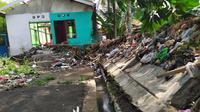 Banjir di Bogor rendam rumah warga.