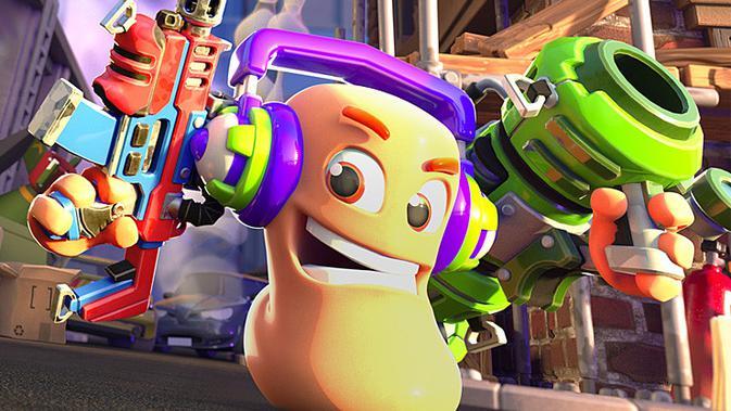 Worms Rumble hadir di PS5 dan PS4. (Doc: Team17)