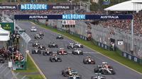 Sirkuit Albert Park, Melbourne, Australia, akan menjadi seri pembuka balapan Formula 1 2016 yang berlangsung 20 Maret 2016. (Liputan6.com/f1fanatic.co.uk)