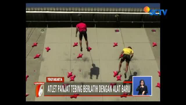 Alat yang digunakan untuk mengaitkan atlet saat memanjat ini telah berstandard internasional.
