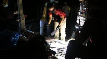 Petasan Meledak dan sebabkan tiga orang tewas, 5 lainnya luka-luka. (Foto: Liputan6.com/Polres Kebumen)