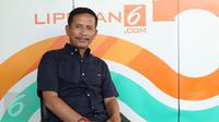 Pelatih Persib Bandung, Djadjang Nurjaman (Djanur). (Liputan6.com/Fery Pradolo)