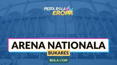 Venue Piala Eropa 2020: Arena Nationala, Bukares, Rumania. (Bola.com/Dody Iryawan)