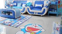 Inspirasi desain rumah tak biasa bagi pecinta Doraemon. (dok. Instagram @reghinakarwur/https://www.instagram.com/p/BqRM1ScFjx8//Asnida Riani)