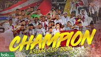 Qatar juara Piala Asia 2019 usai kalahkan jepang 3-1.  (Bola.com/Dody Iryawan)