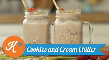 Cookies and Cream Chiller, Milkshake Seru di Akhir Pekan