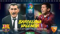 La Liga - Barcelona Vs Valencia (Bola.com/Adreanus Titus)
