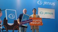 BTPN meluncurkan bank digital yang diberi nama Jenius untuk menjawab tantangan zaman dan mengakomodasi kebutuhan kaum milenial (Liputan6.com/ Switzy Sabandar)
