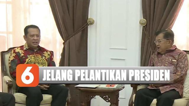Kedatangan para pimpinan MPR ini adalah untuk menyerahkan secara langsung undangan pelantikan presiden-wakil presiden 2019-2024.