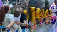 Momen Gigi Hadid Rayakan Ultah Pertama Baby Khai. (Sumber: Instagram/lanzybear)