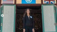 Lexie Alford di Korea Utara yang membuatnya sudah megunjungi semua negara di dunia di usia 21 tahun. (dok.Instagram @lexielimitless/https://www.instagram.com/p/ByL--_9HPf4/Henry