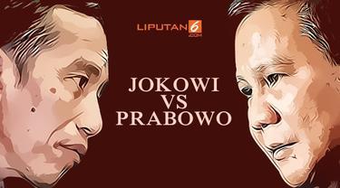 Banner Infografis Healine Adu Taktik Jitu Jokowi Vs Prabowo