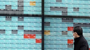 Pasar Saham di Asia Turun Imbas Wabah Virus Corona
