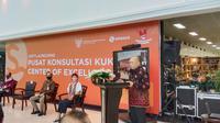 Menteri Koperasi dan UKM Teten Masduki melakukan peresmian Gedung Smesco Indonesia sebagai Pusat Konsultasi bagi para pelaku UMKM.
