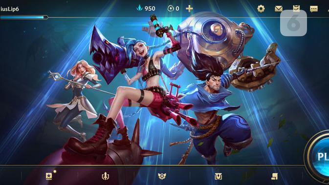 League of Legends: Wild Rift. (Liputan6.com)