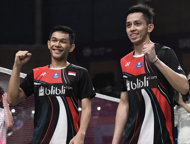 Kegembiraan Fajar / Rian Raih Juara Korea Terbuka 2019