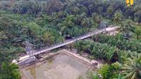 Proyek Jembatan Gantung di Indonesia. Dok Kementerian PUPR
