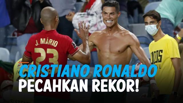 rekor ronaldo