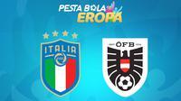 Piala Eropa - Euro 2020 Italia Vs Austria (Bola.com/Adreanus Titus)