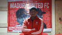 Rahmad Darmawan resmi menjadi pelatih Madura United. (Bola.com/Aditya Wany)