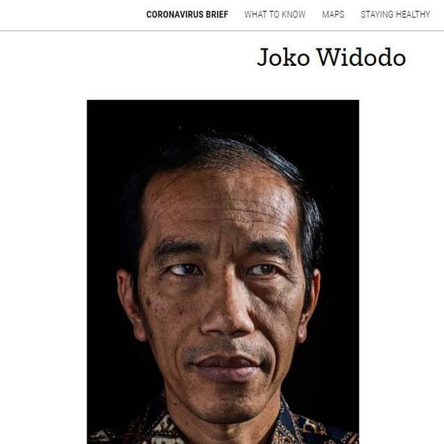 Gambar Tangkapan Layar Foto Presiden Jokowi