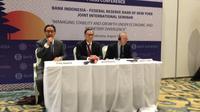 Seminar Internasional Bank Indonesia dan Bank Sentral New York di Bali