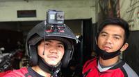Potret Rizki dan Ridho D'Academy Naik Motor Trail. (Sumber: Instagram/da2_rizki123)