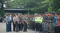Apel pengamanan kunjungan Jokowi ke NTT. (Liputan6.com/Ola Keda)