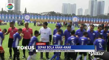 Sepak bola anak-anak ini butuh perhatian berbagai pihak menyusul minimnya kompetisi atau turnamen nasional.
