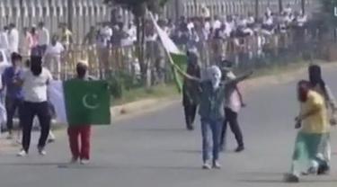 Bentrokan di Kashmir