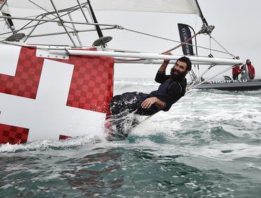20170221- Alan Roura-Pelaut Muda- Kelilingi Lautan Dunia- Vendee Globe-AFP photo