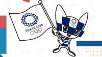Olimpiade 2020 - Ilustrasi Logo Olimpiade (Bola.com/Adreanus Titus)