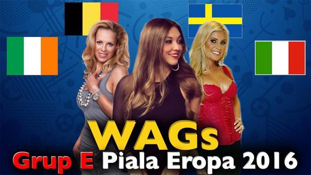 Video para WAGs cantik pemain top di Grup E Piala Eropa 2016, salah satunya Helena Seger istri dari Zlatan Ibrahimovic pemain asal Swedia.