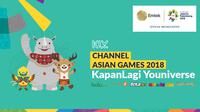 KLY Channel Asian Games 2018 1 (Bola.com/Dody Iryawan)
