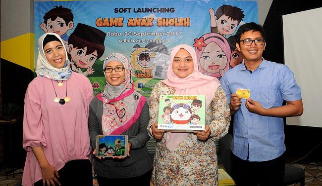 Game Anak Sholeh/copyright redaksi vemale/anisha