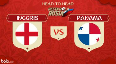 Berikut adalah peta kekuatan dua tim Piala Dunia 2018 antara Inggris melawan Panama.