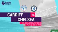 Premier League: Cardiff City vs Chelsea. (Bola.com/Dody Iryawan)